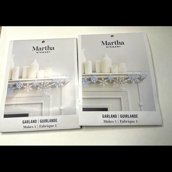 2 Glittery Garland Holiday Kits Martha Stewart